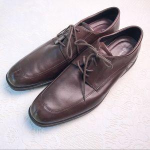 Rockport Shoes - Rockport Brown Leather Oxfords Dress Shoes Sz 14